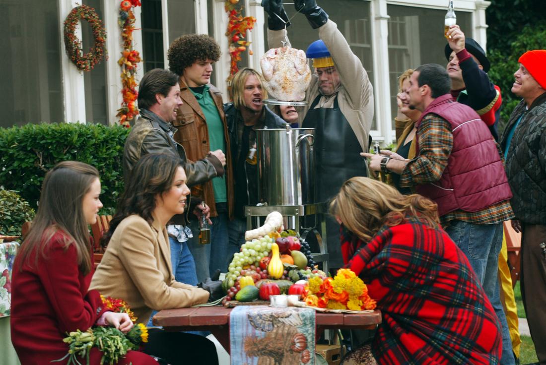 Gilmore Girls Deep-Fried Korean Thanksgiving Episode