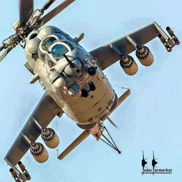 Mali : À la découverte du MI-35, le nouvel hélicoptère de combat des FAMa