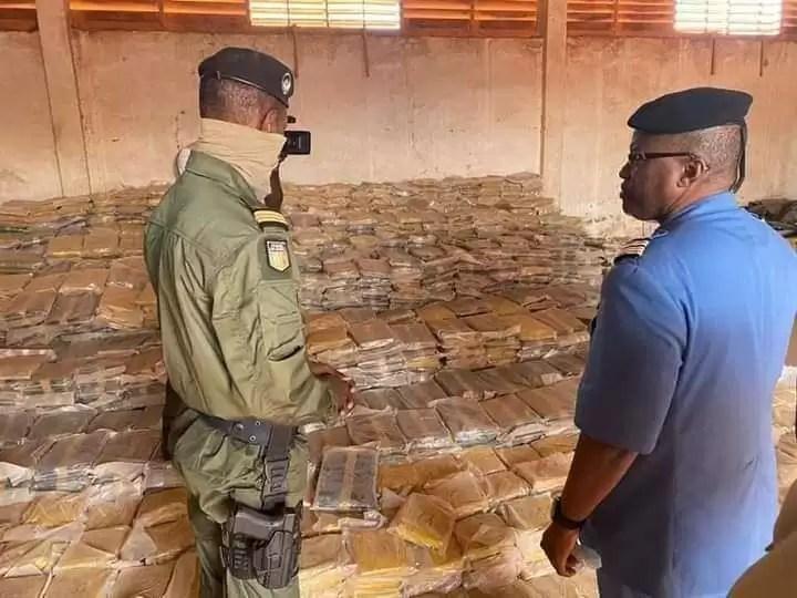 Mali : 6 tonnes de cannabis saisit par la douane de Koutiala