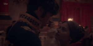 Jenna Coleman and Tom Hughes