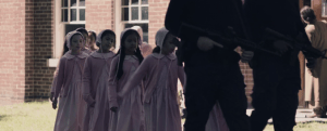 handmaid's tale episode 1 young children