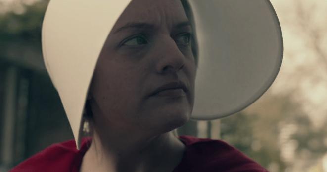 elisabeth moss handmaid's tale episode 2