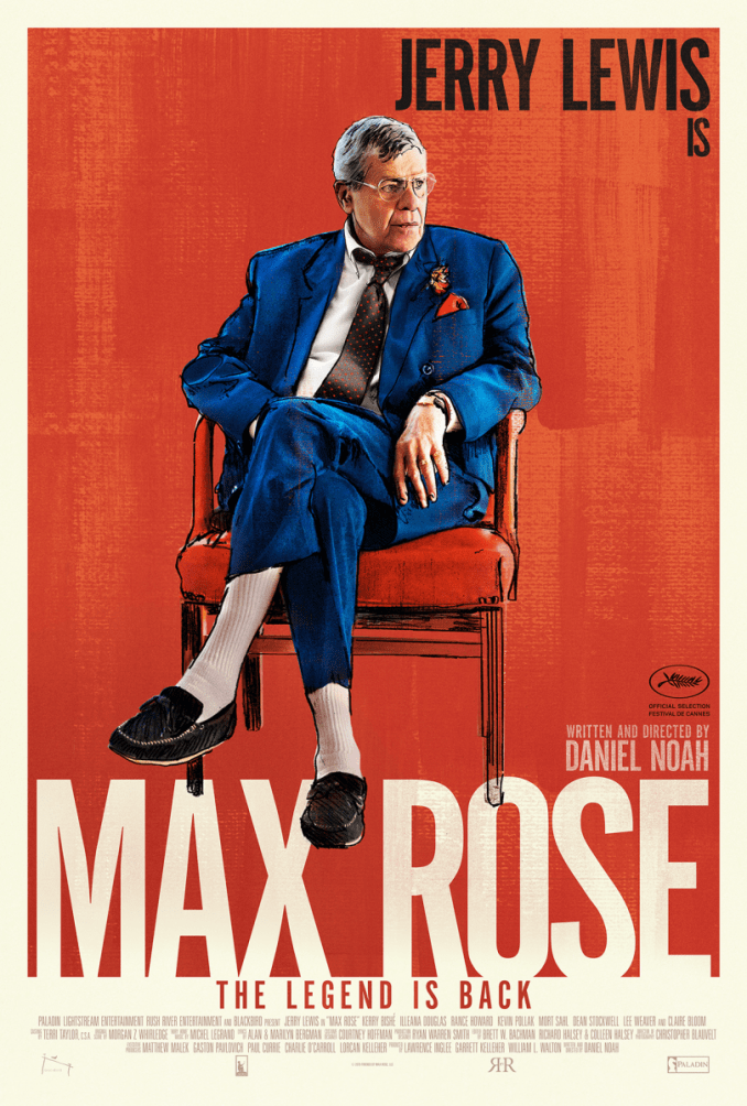 Max Rose Poster starring Jerry Lewis