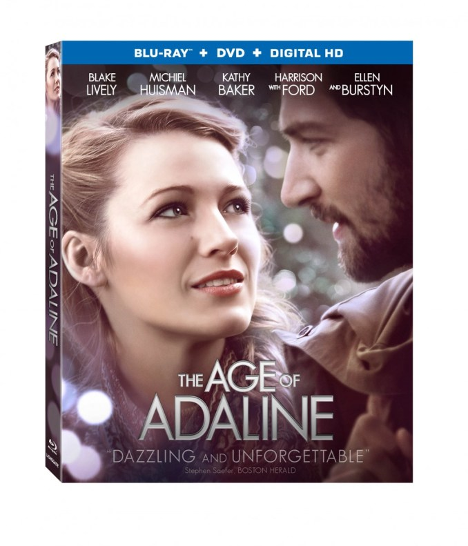 Age of Adaline Bluray