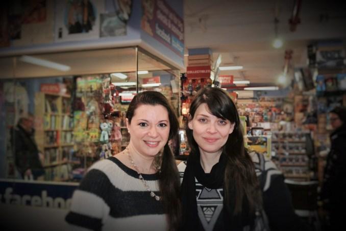 Liz Whittemore & Amber Benson