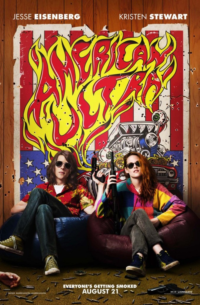 American Ultra SDCC poster