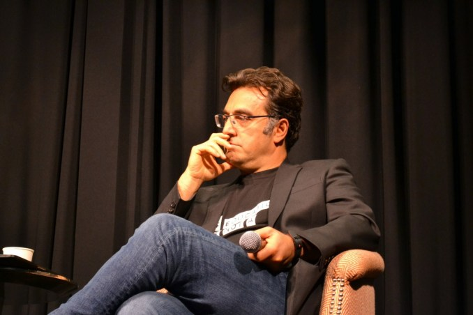 Mazier Bahari at the NYC Rosewater Press Junket. Photo by Liz Whittemore
