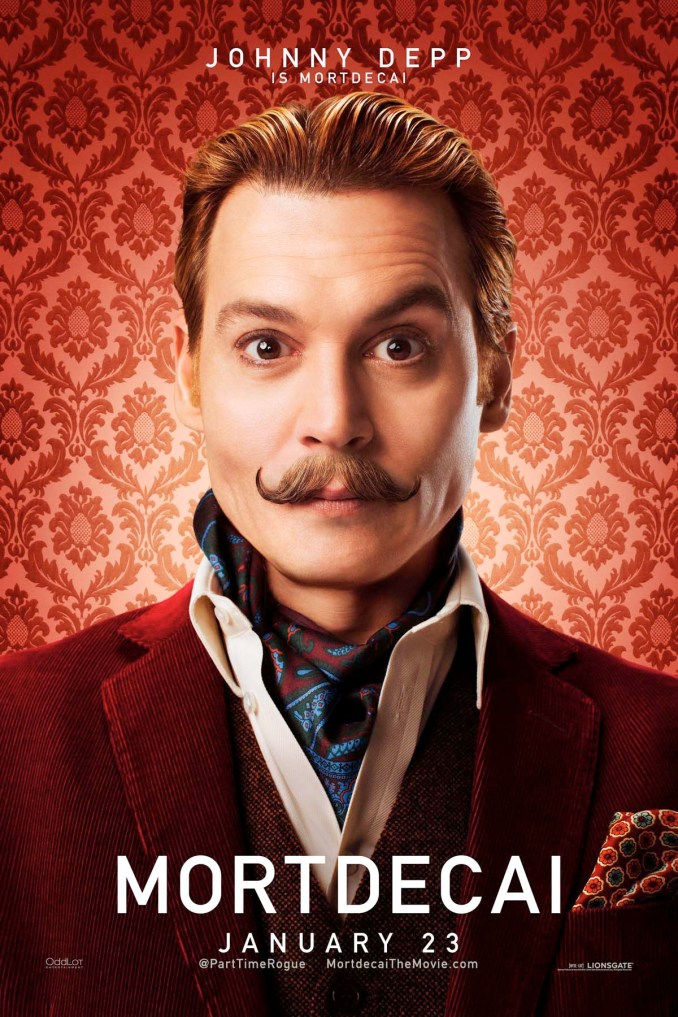 Mortdecai Johnny poster