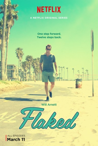 FLAKED poster