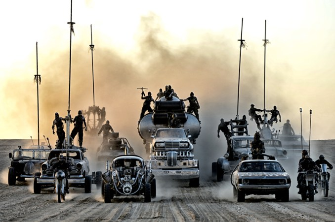 """A scene from Warner Bros. Pictures' and Village Roadshow Pictures' action adventure """"MAD MAX: FURY ROAD,"""" a Warner Bros. Pictures release.  Photo by Jasin Boland"""