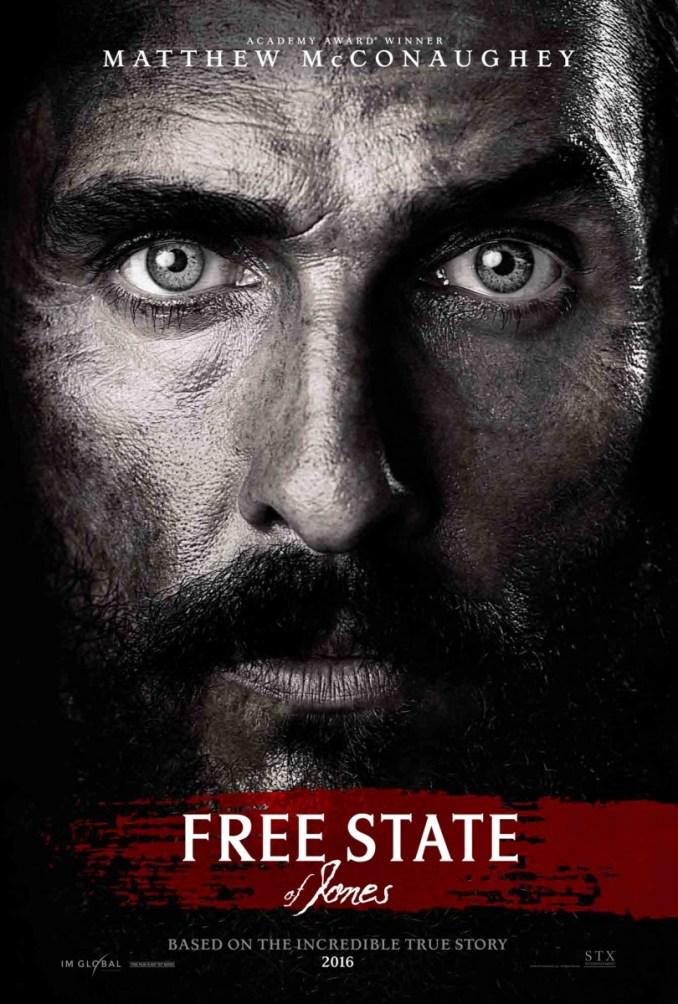Free State of Jones-Poster