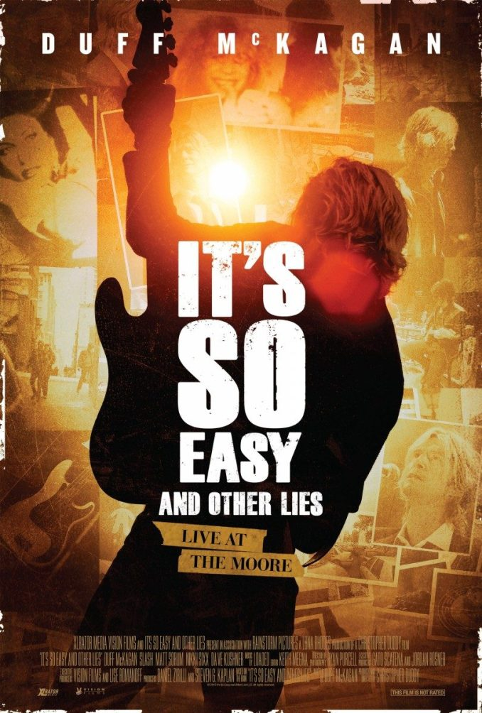 Its So Easy and Other Lies poster