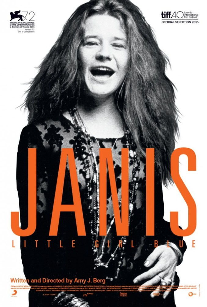 Janis Little Girl Blue - poster