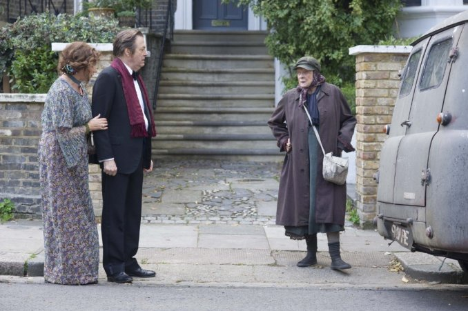 Maggie Smith and co the lady in the van