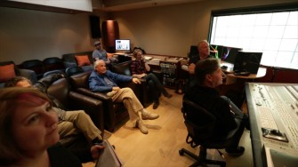 SCORE_A_FILM_MUSIC_DOCUMENTARY_Composer_John_Debney_watching_the_movie_for_the_first_time_with_the_late_Garry_Marshall__Phot