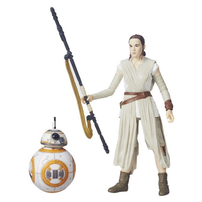 Star Wars: The Black Series 6-Inch Figure Assortment..Licensee: HASBRO .MSRP: $19.99.Available: September 4.Age: 4+. .The most anticipated film of the year, STAR WARS: THE FORCE AWAKENS, comes to life with STAR WARS: THE BLACK SERIES for the ultimate collection! Each new 6-inch scale figure is highly articulated and exceptionally detailed. Characters include FINN (JAKKU), REY (JAKKU) with BB-8, KYLO REN, CAPTAIN PHASMA, FIRST ORDER STORMTROOPER, CHEWBACCA, POE DAMERON, CONSTABLE ZUVIO, FIRST ORDER SNOWTROOPER and more. Each sold separately.