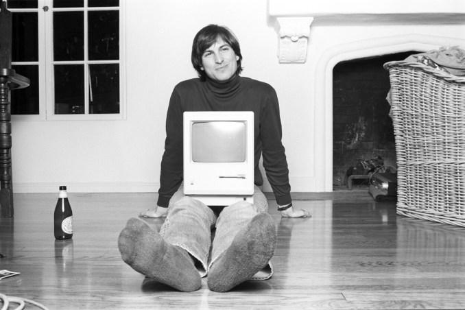 Steve Jobs, Woodside CA 1984