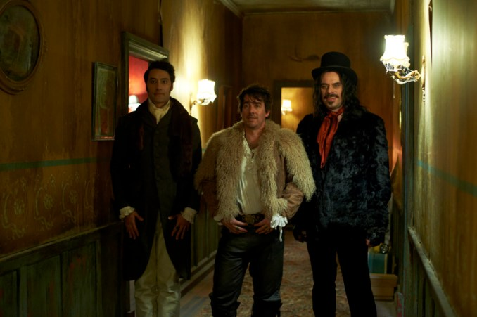 Taika Waititi Jonathan Brugh Jemaine Clement WHAT WE DO IN THE SHADOWS Photo Credit Unison Films