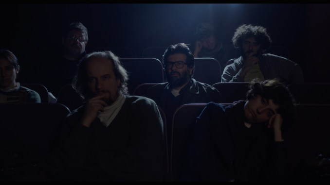 Víctor (Rafael Spregelburd) in THE FILM CRITIC. Courtesy of Music Box Films