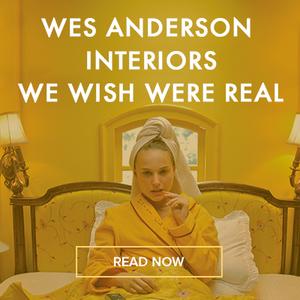 Wes Anderson interiros book