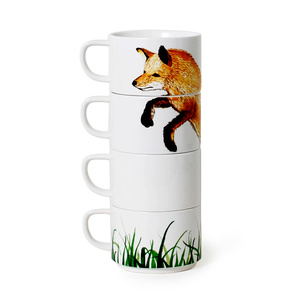 Wes Anderson_Foxy_Stacking_Mugs0Dot&Bo