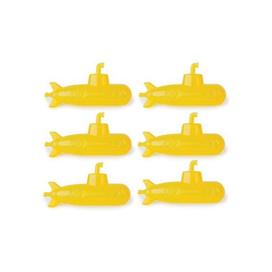 Wes Anderson_Yellow_Submarine_Reusable_Ice_Cubes-Set_of_6 Dot &Bo