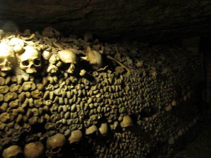 Catacombs of Paris Photo by Liz Whittemore