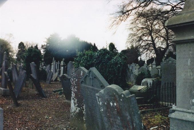 gravestones