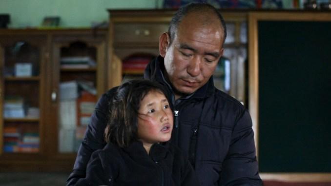 tashi - monk and girl