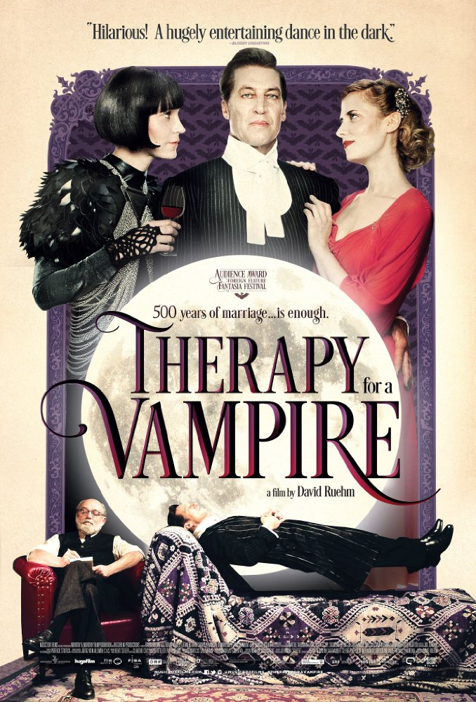 therapy for a vampire poster