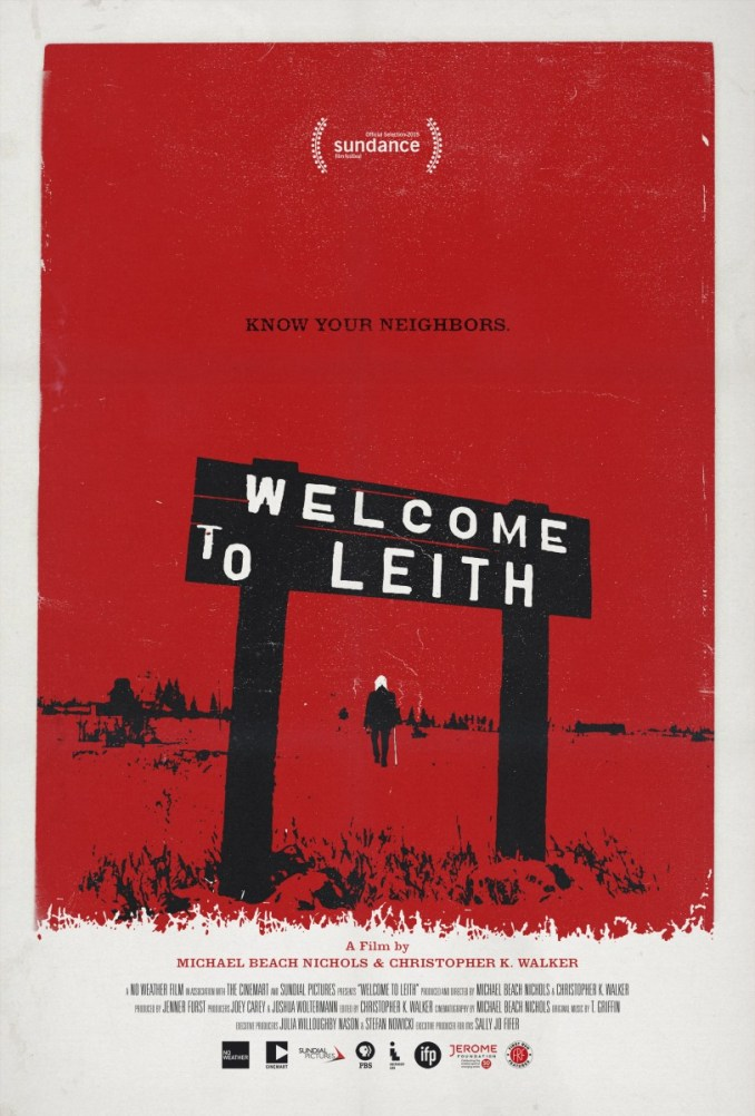 welcome to leith - poster