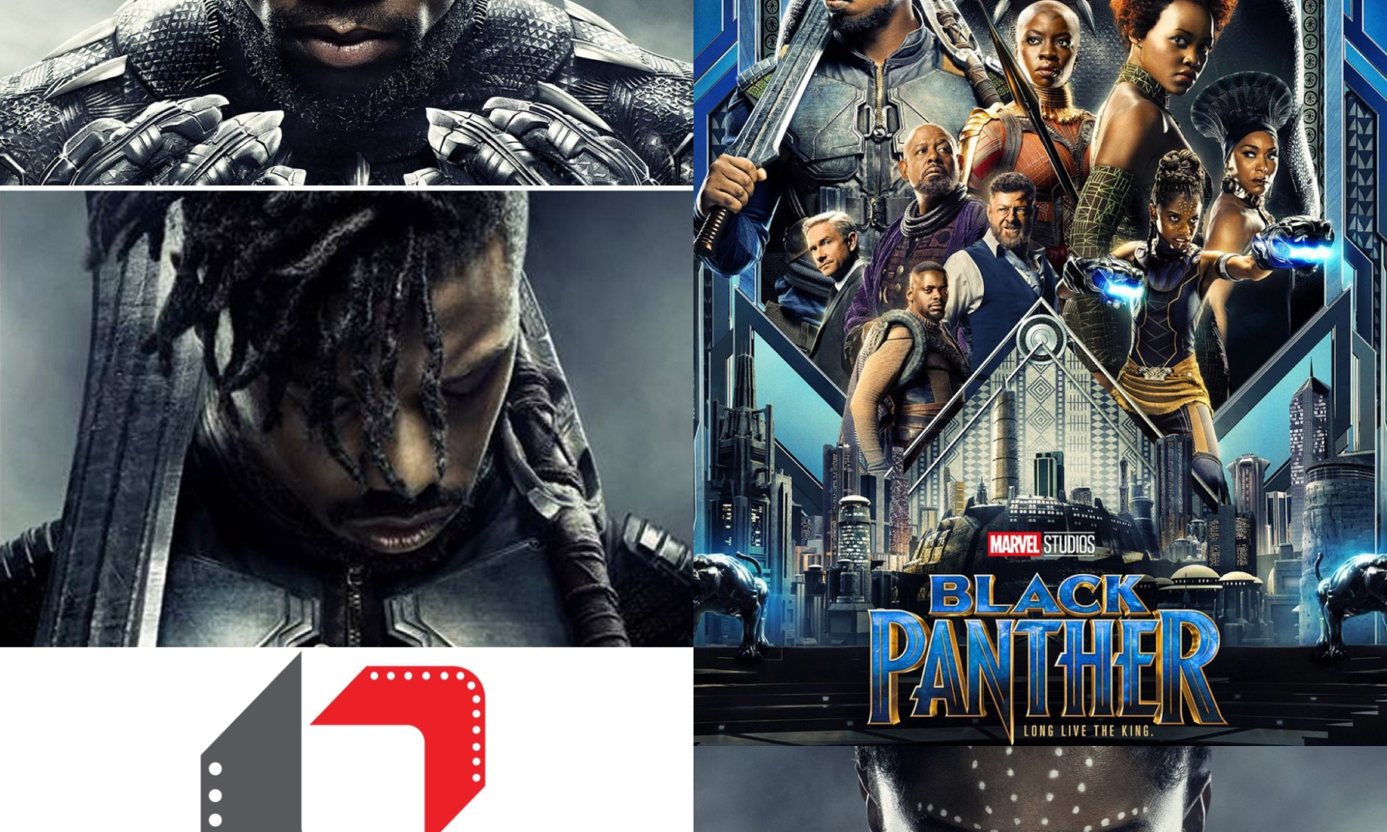 balck panther movie review killmonger and t'challa