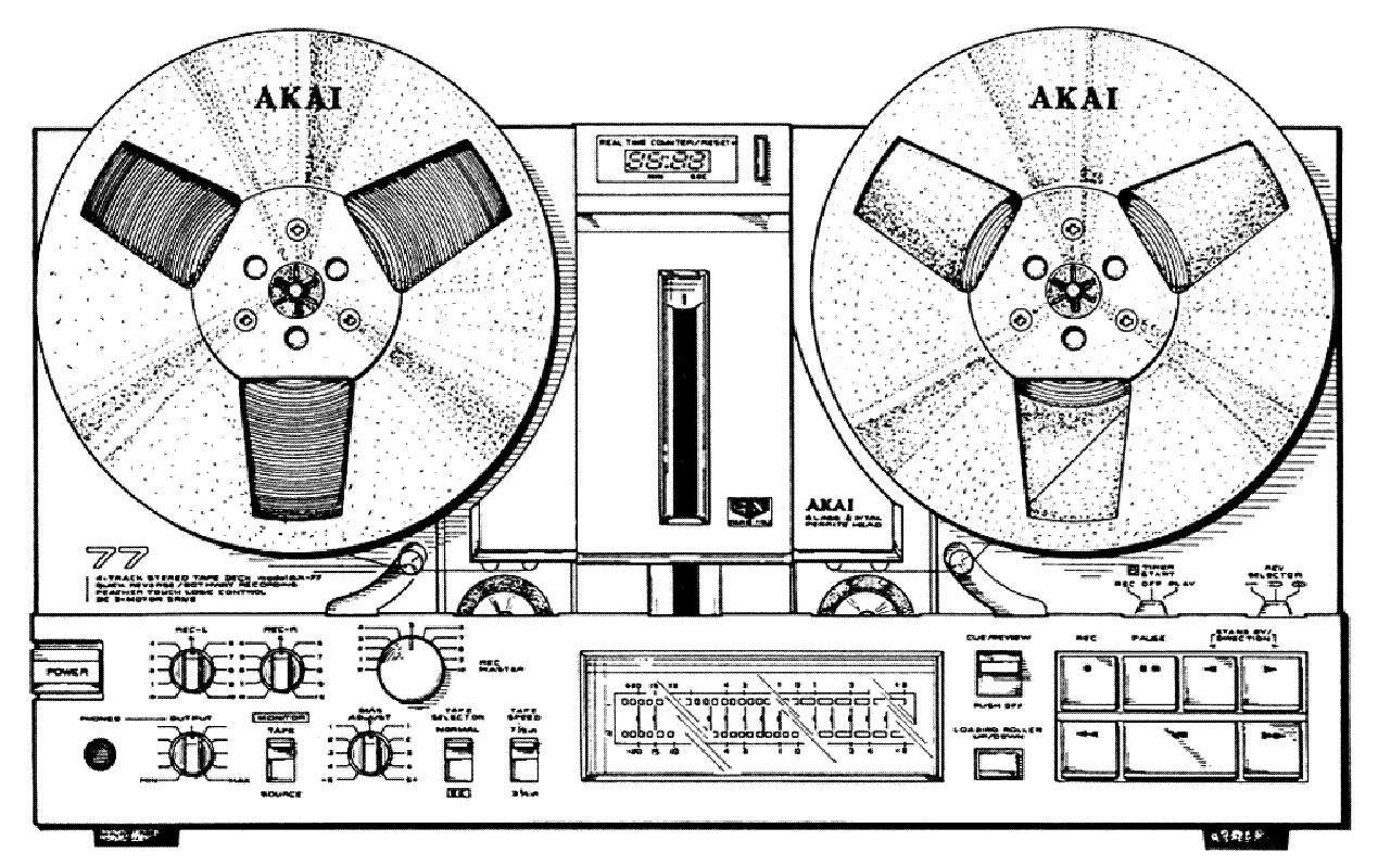 Akai GX-77 Tech Info