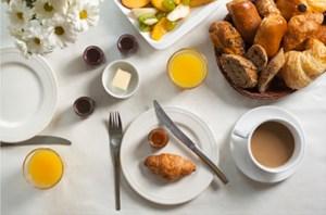 Hotel Breakfast, Pinedale Wyoming