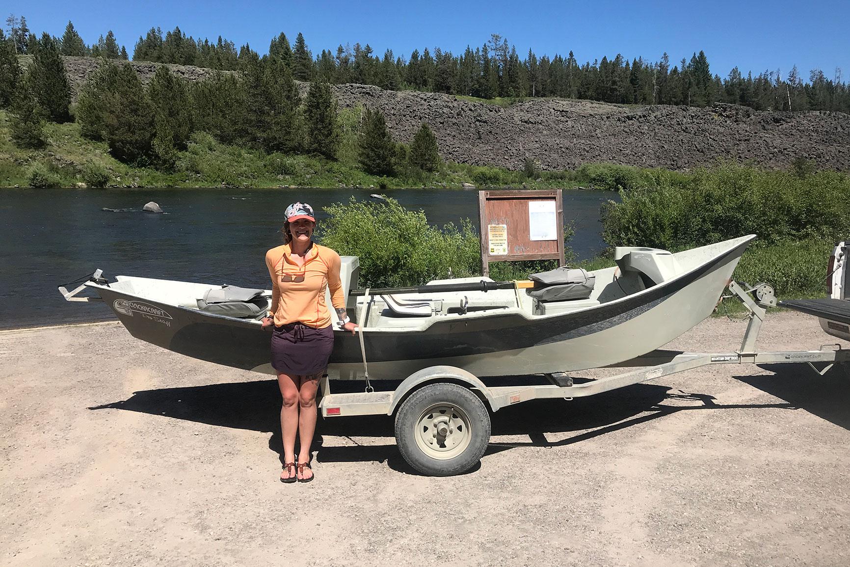 Guide School, Lori-Ann Murphy, Reel Women Fly fishing Adventures