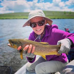 Brown Trout, Green River, Wyoming, Two Rivers Fishing Co.