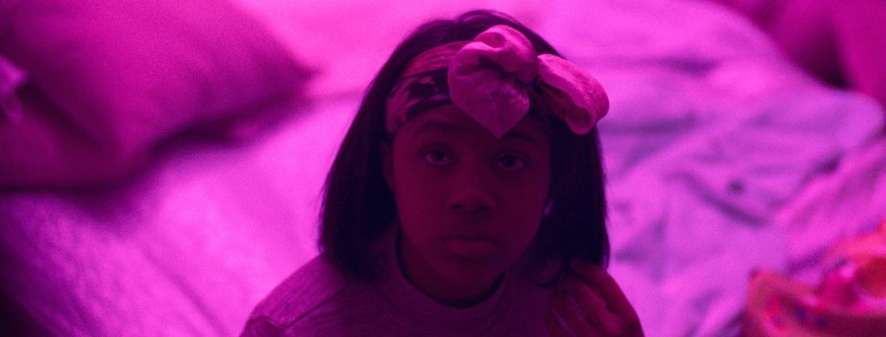 Taliah Webster as Crystal in a scene from the Safdie Brothers' 2017 crime thriller, Good Time.
