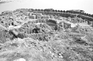 view from the top, Murud Janjira Fort