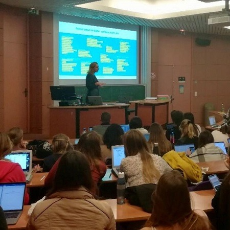 Intervention à l'ESSEC d'Aurore de Lignières, fondatrice de Reemind sur les carrières du digital