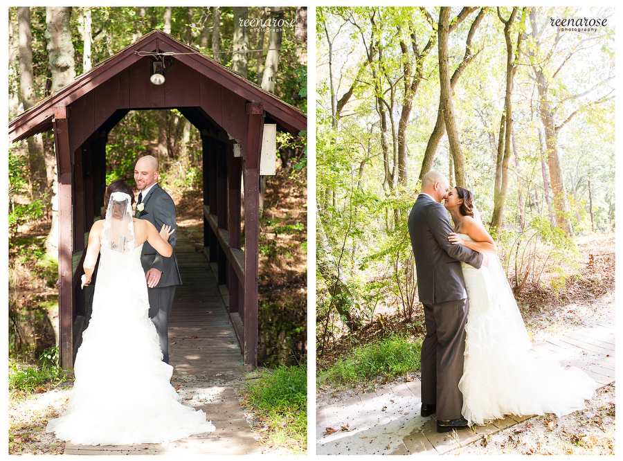 Nicole  Rob New Jersey Wedding Photography at YMCA Camp