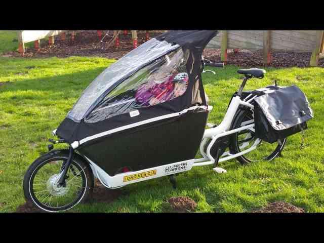 Urban Arrow Family Lastenrad Cargobike Bakfiets