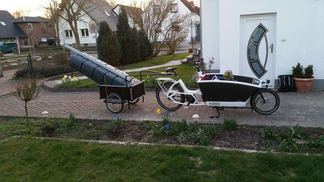 Urban Arrow Family Lastenrad Cargobike Bakfiets