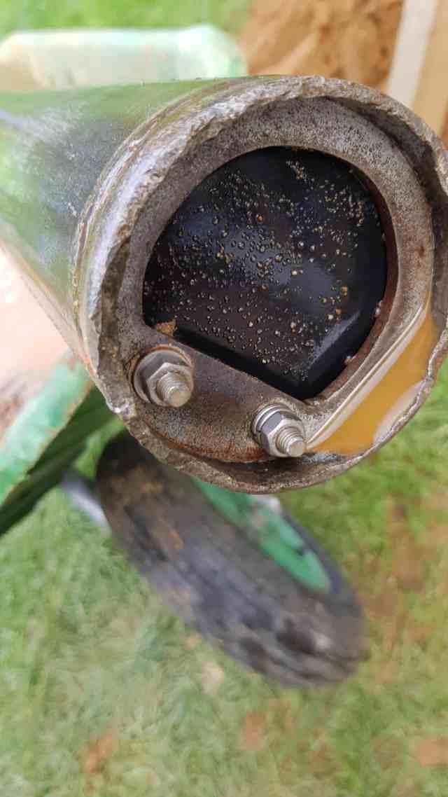 kiespumpe brunnen bohren gummimembran