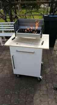 ikea diy grillwagen grill boxgrill