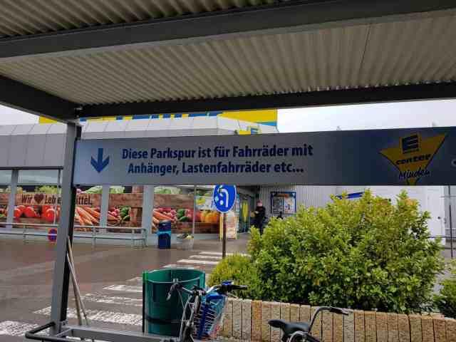 Cargobike Stellplatz