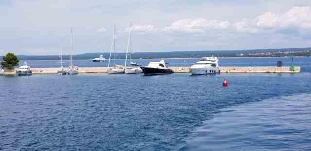 Nationalpark Brijuni hafen