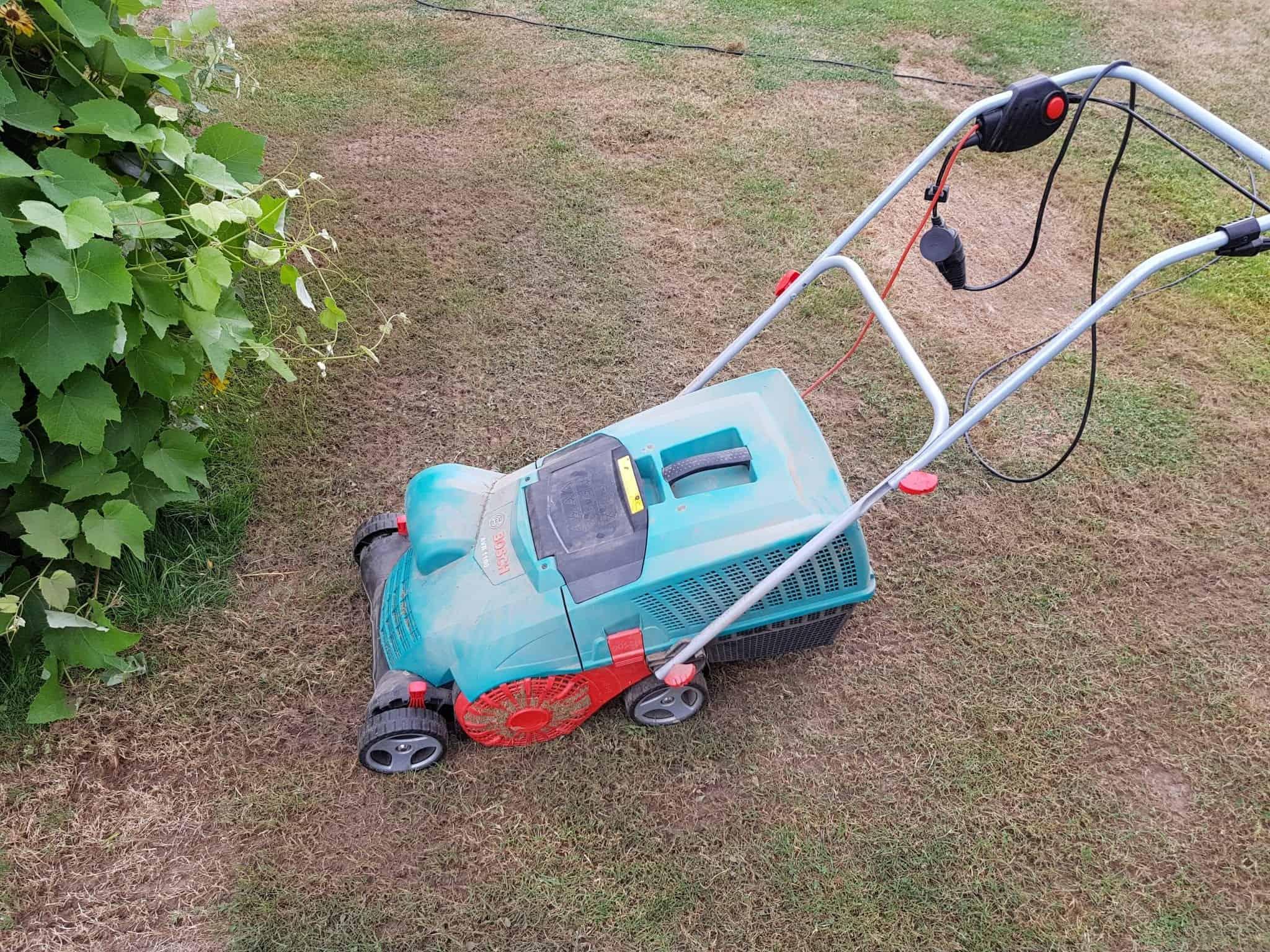 Rasen vertikutieren Bosch