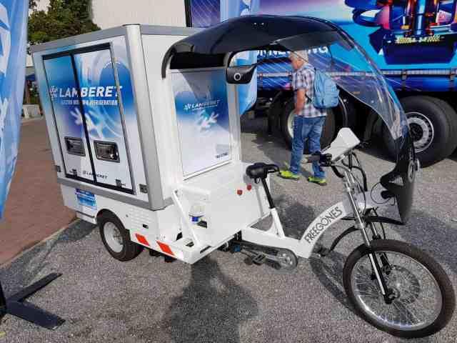 Fahrrad Kühllaster