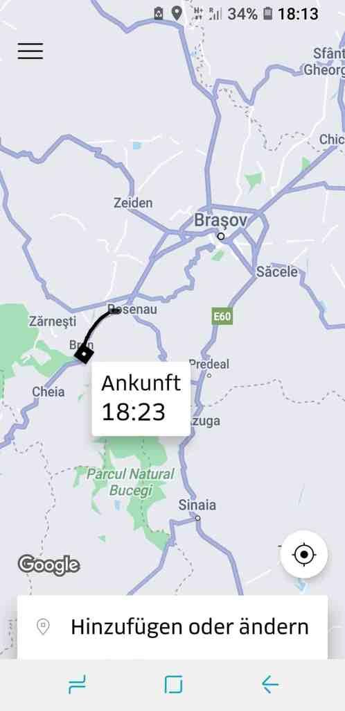 Uber Rumänien
