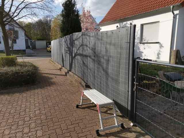 Zaunerhöhung Sichtschutz